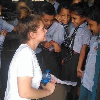 Jessica D in Nepal